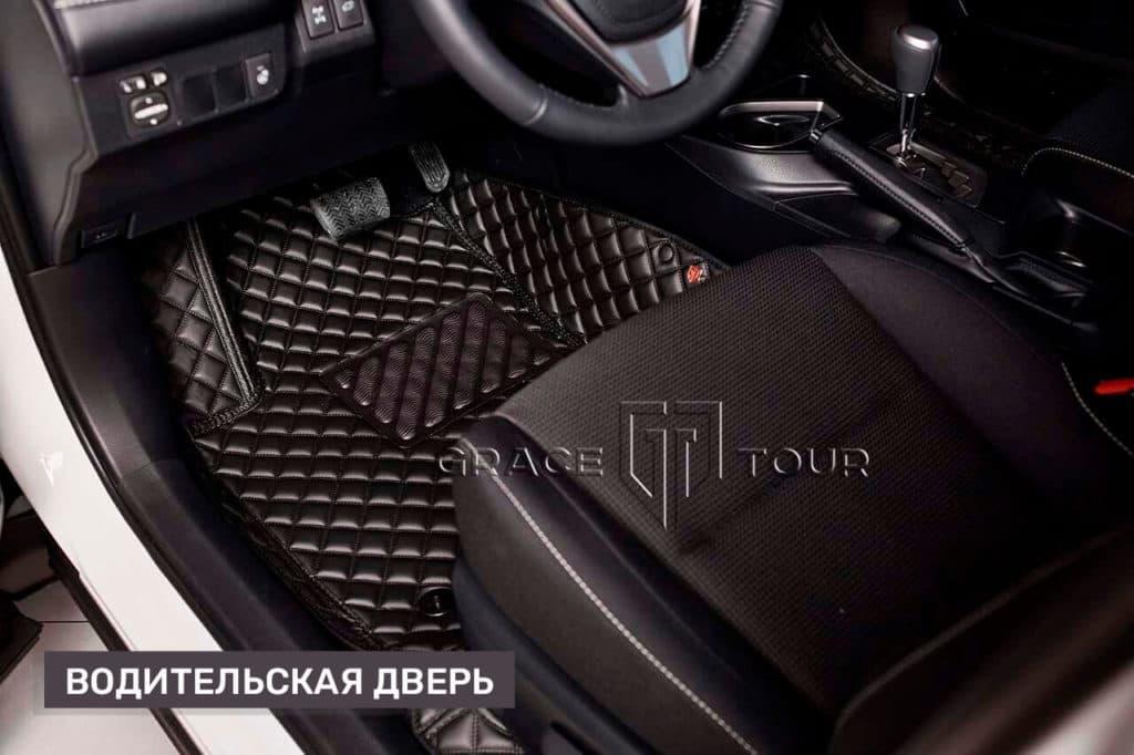 3D коврики из экокожи в салон Toyota RAV 4