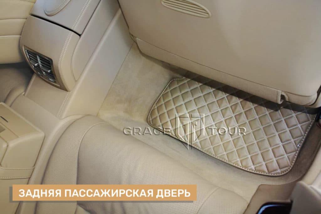 Коврики из экокожи для Mercedes-Benz CL, пассажирские