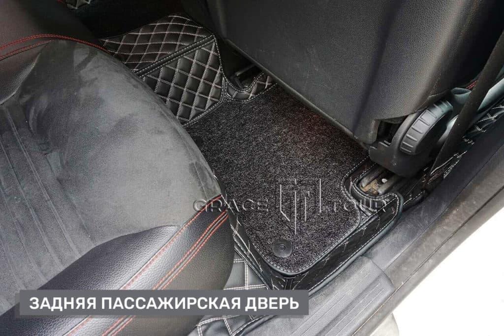 Коврики из экокожи для Mercedes-Benz CLA