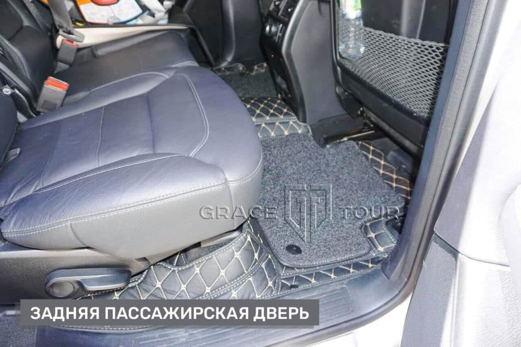 Коврики пассажирские из экокожи для Mercedes-Benz GL/GLS