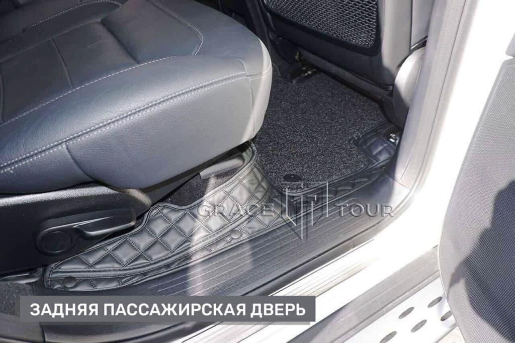 Коврики из экокожи для Mercedes-Benz ML/GLE, индивидуальный пошив
