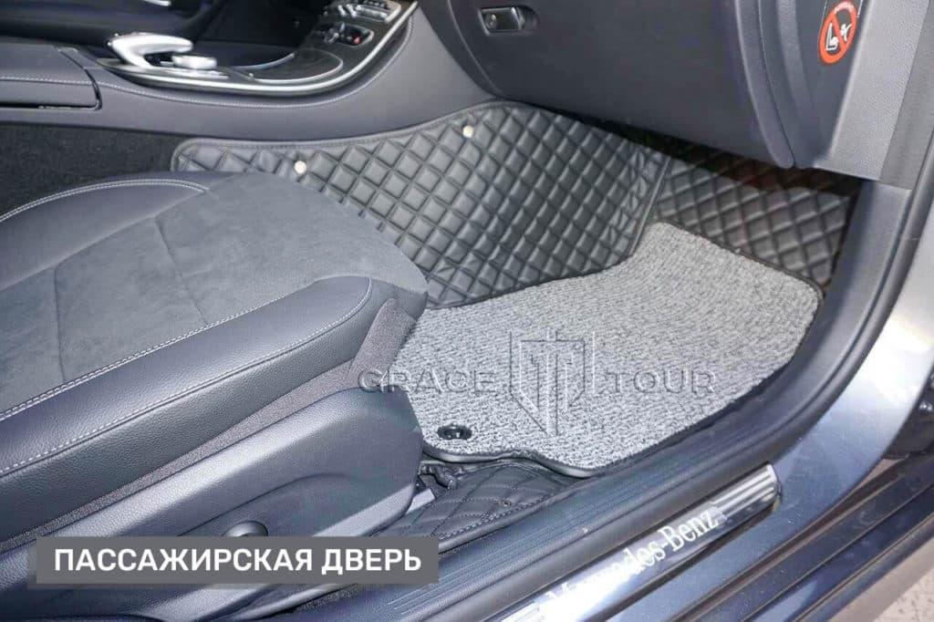 Коврики из экокожи для Mercedes-Benz E-class
