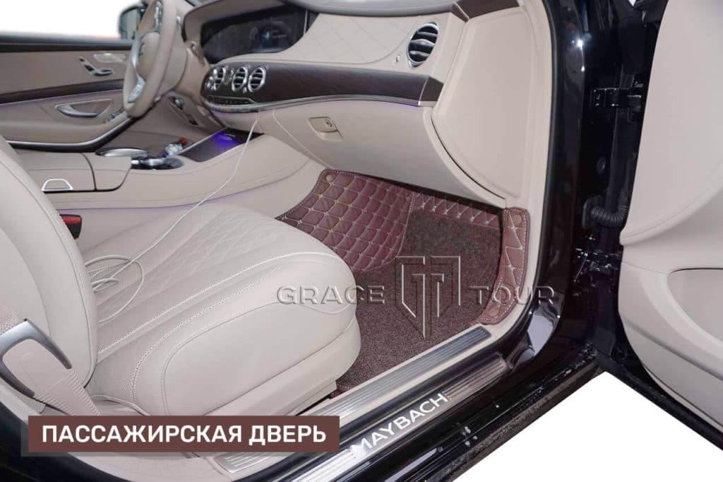 Коврики (экокожа Премиум) на Mercedes-Benz S class