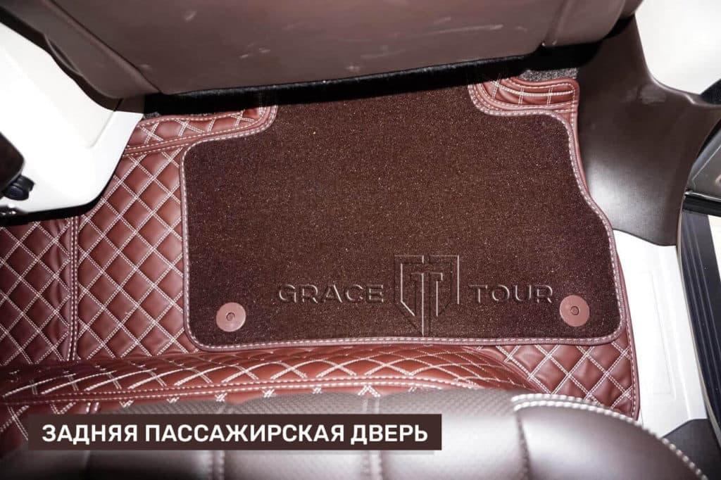 3D-коврики из экокожи для Land Rover Range Rover