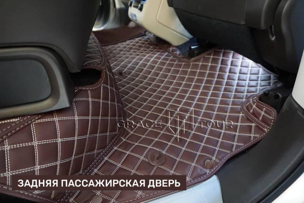 3D-коврики из экокожи для Land Rover Range Rover с высокими бортами