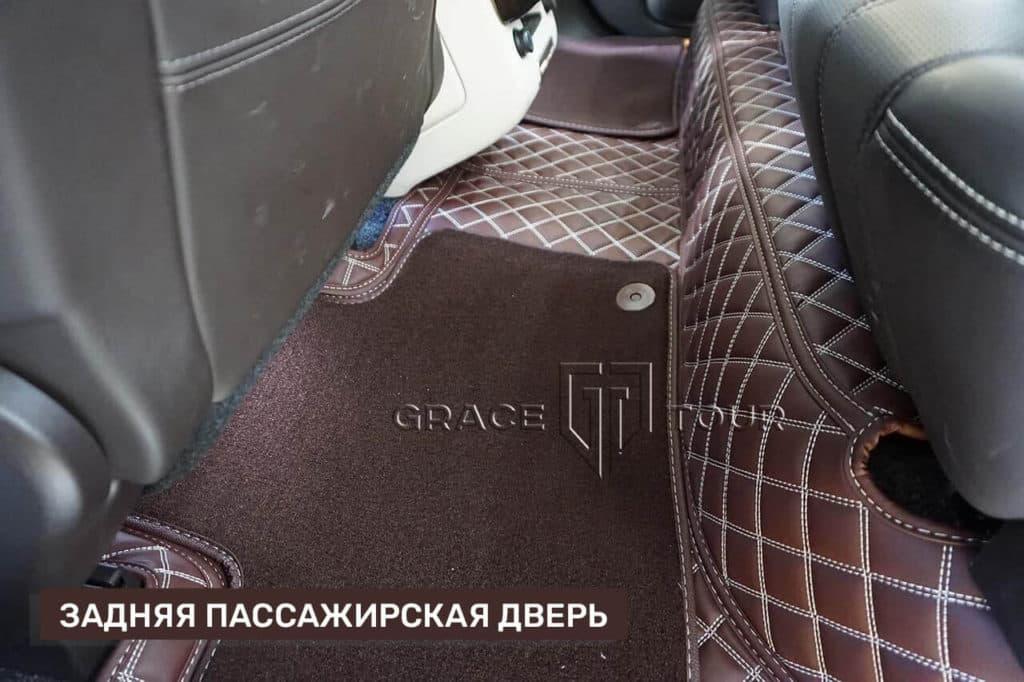 3D-коврики из экокожи для Land Rover Range Rover с ворсом