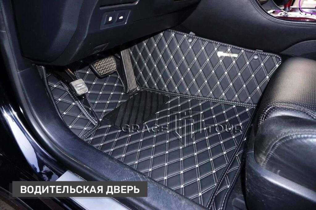 Автомобильные коврики из экокожи для Lexus GS