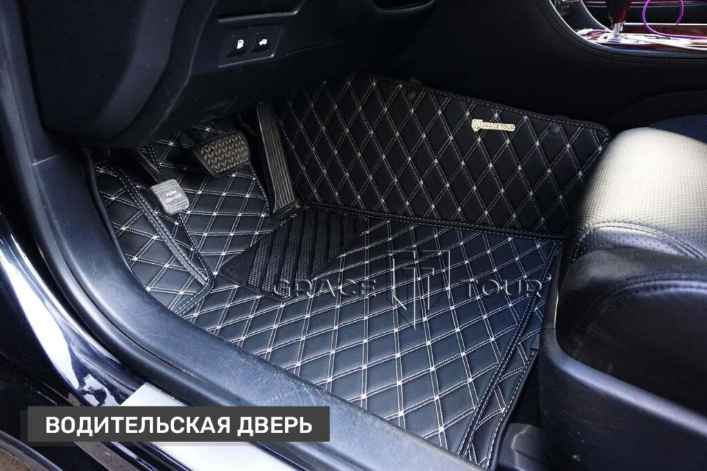 Автомобильные коврики 3D из экокожи для Lexus GS