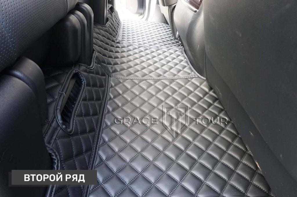3D-коврики из экокожи для салона Lexus LX