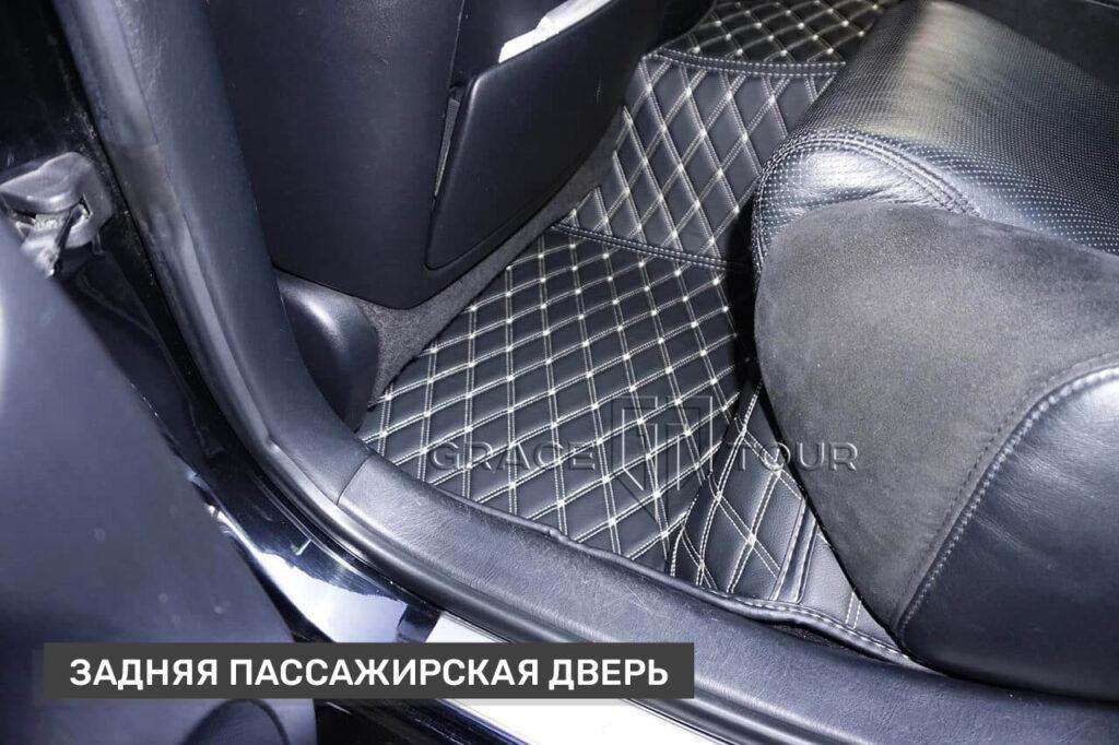 Коврики из экокожи 3D для Lexus GS пассажирские