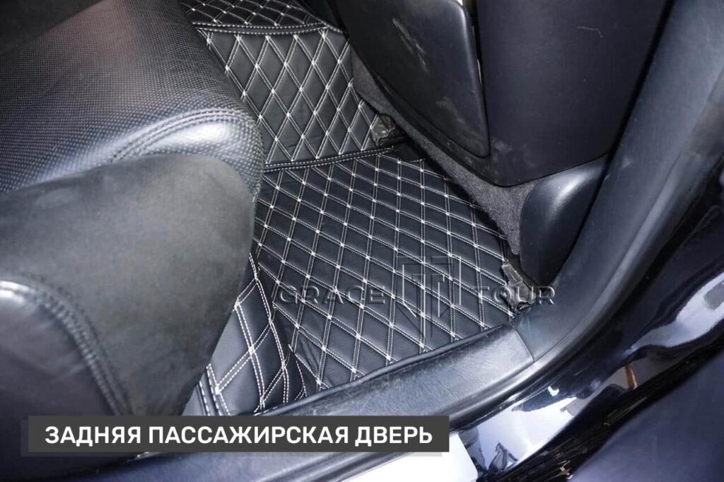 Коврики из экокожи 3D в салон Lexus GS пассажирские