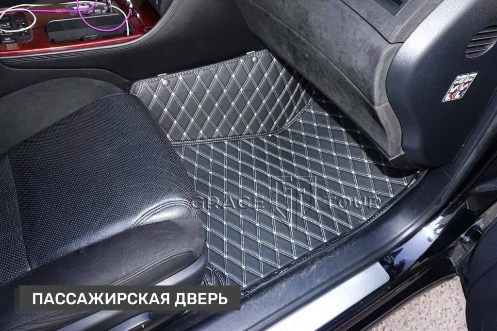 Пассажирские коврики из экокожи для Lexus GS