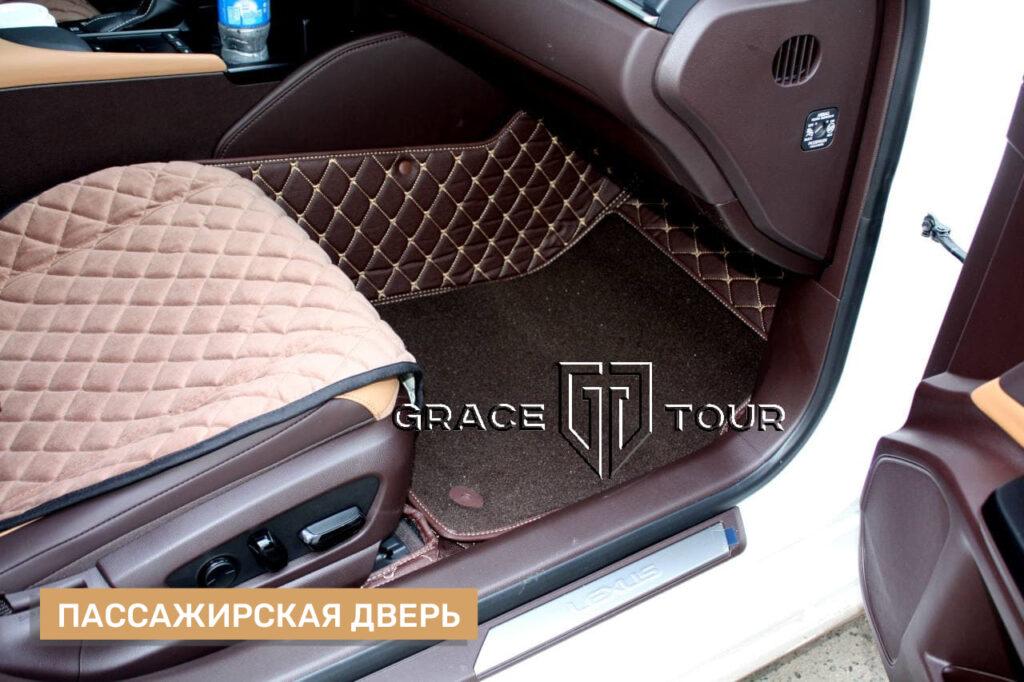 3d-Коврики из экокожи для Lexus ES, ручная работа