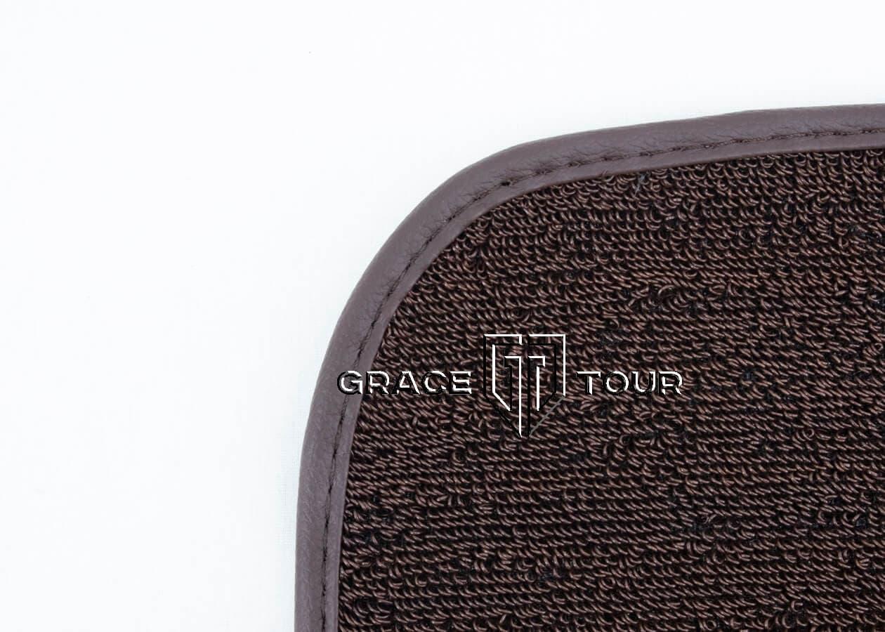 Дополнительный ворс ПВХ мини тёмно-коричневый для автомобильных ковриков