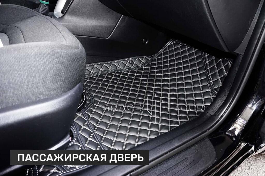 3Д коврики из экокожи для автомобиля Kia Cee'd
