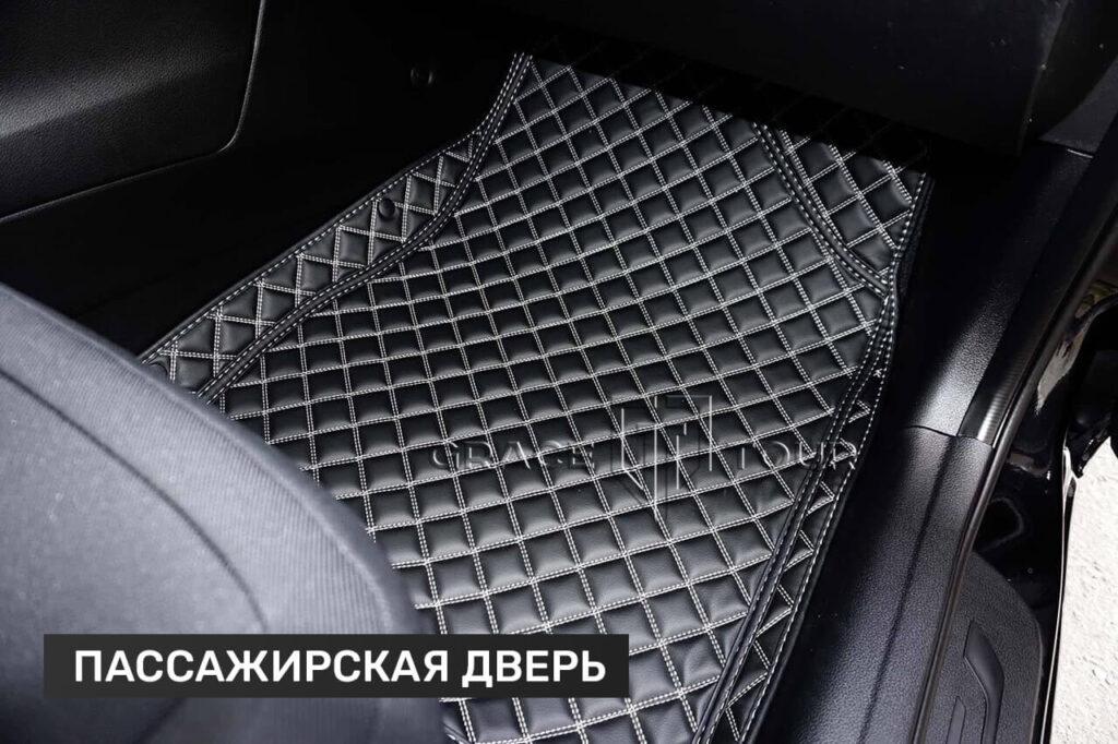 3D коврики из экокожи для салона авто Kia Cee'd