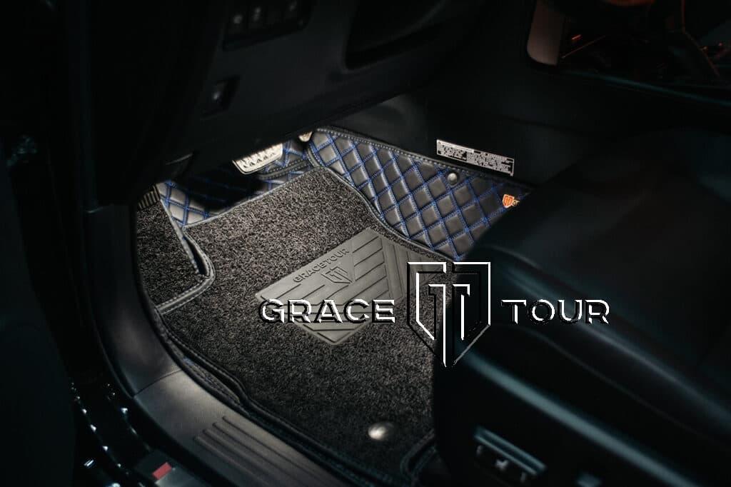 Коврики 3D из экокожи Престиж для Lexus GX 460