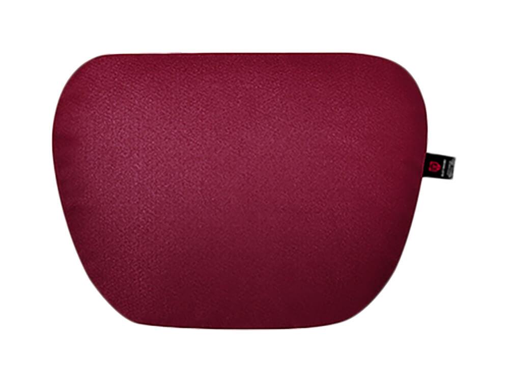 Бордовая подушка на подголовник