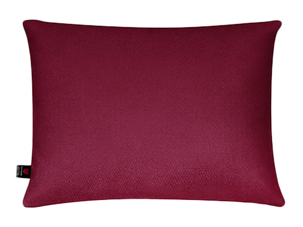 Бордовая поясничная подушка в салон авто