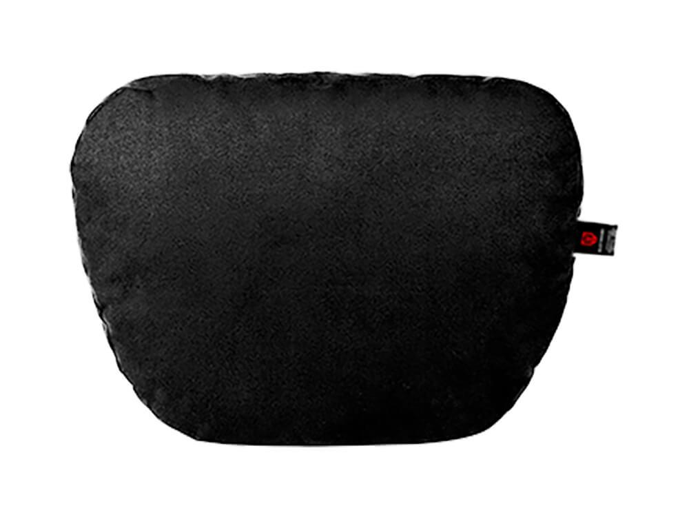 Чёрная подушка на подголовник