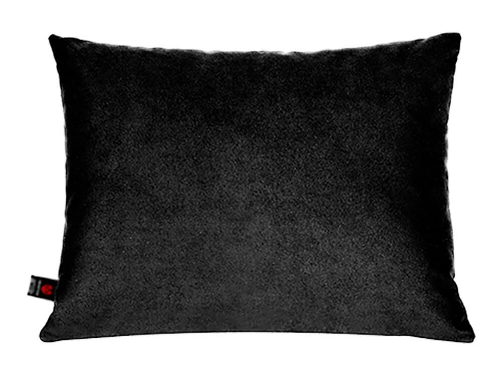 Чёрная поясничная подушка в салон авто