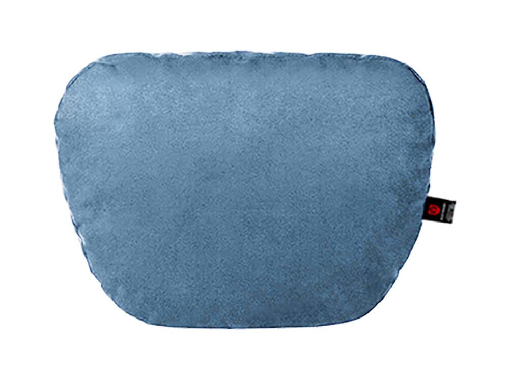 Голубая подушка на подголовник