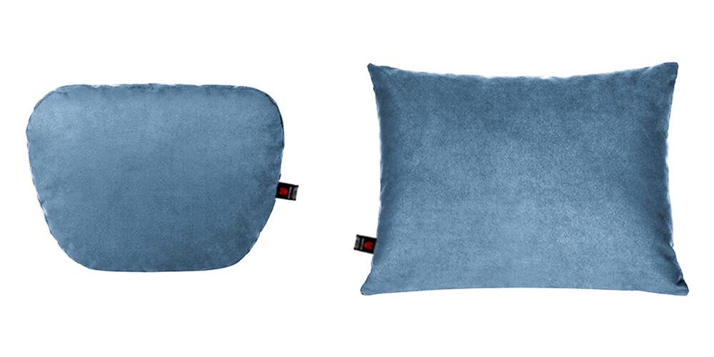 Подушки в салон автомобиля, голубой комплект, 2 штуки
