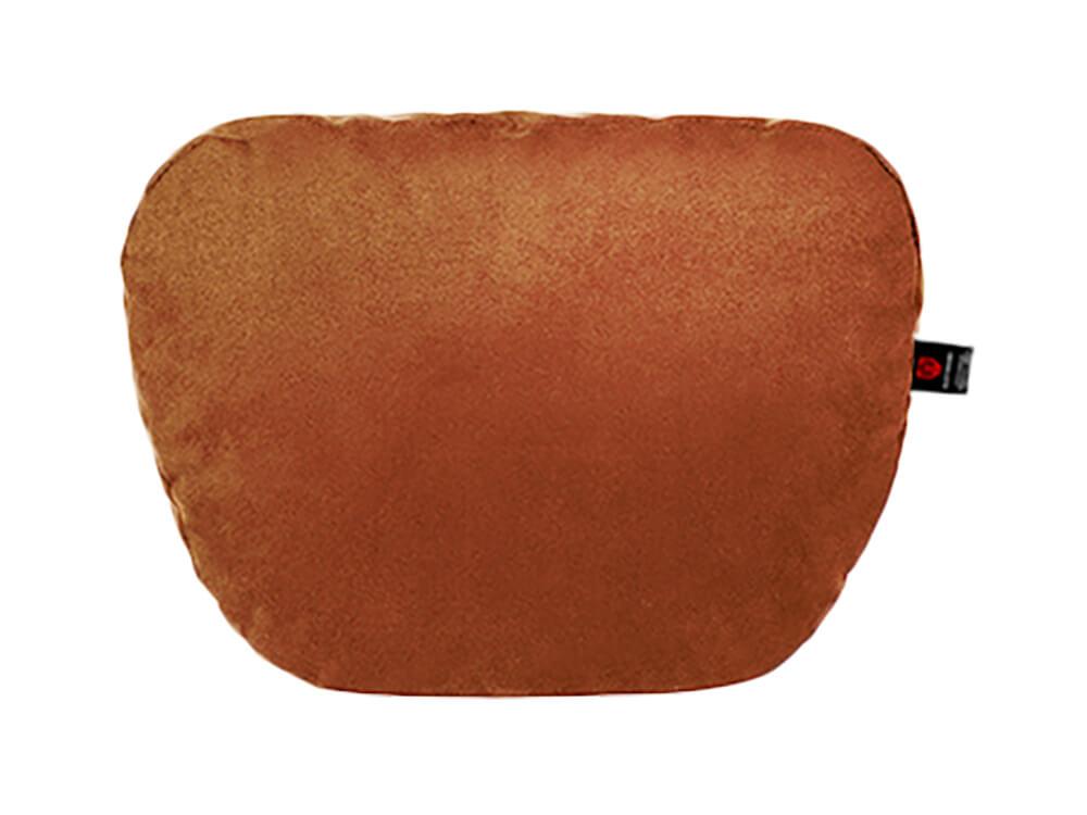 Коричневая подушка на подголовник