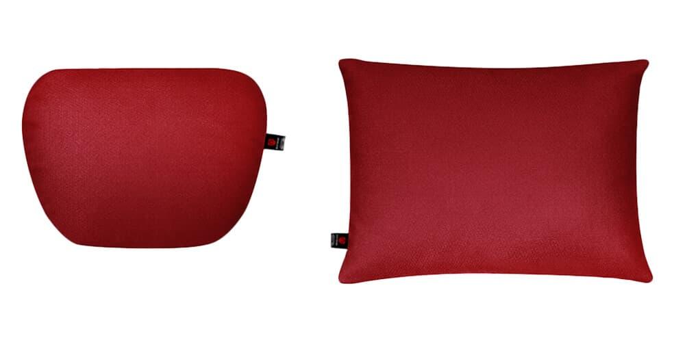 Подушки в салон автомобиля, красный комплект, 2 штуки