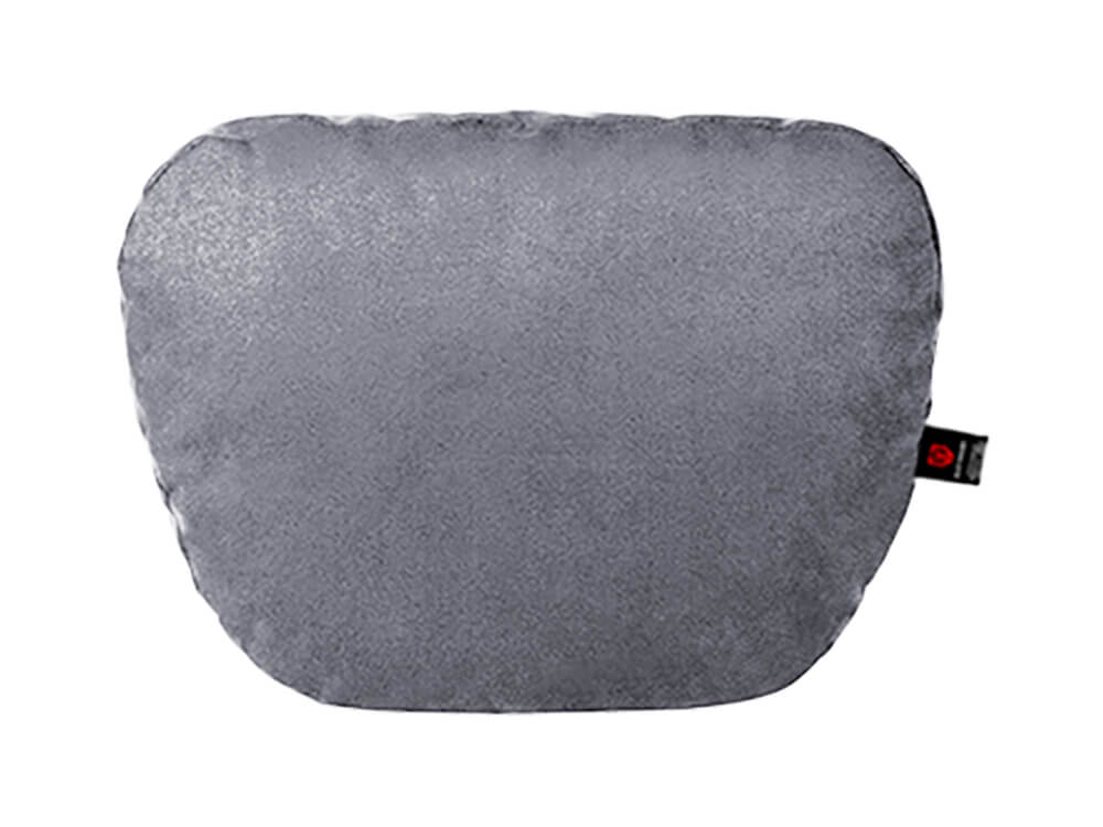 Серая подушка на подголовник
