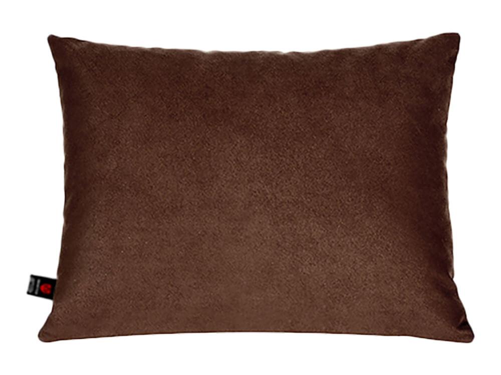 Тёмно-коричневая поясничная подушка в салон авто