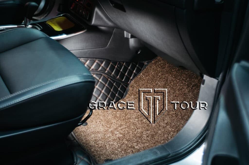 Коврики из экокожи для Mitsubishi Outlander пассажирские