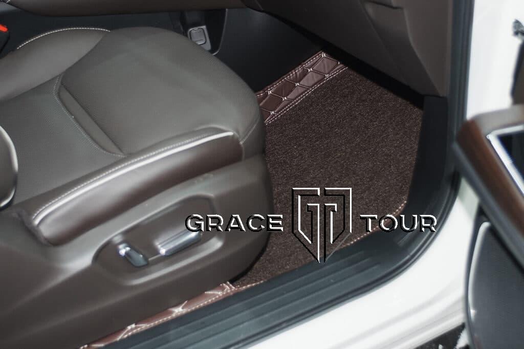 3d коврики из экокожи для Mazda CX-9 AWD с высокими бортами