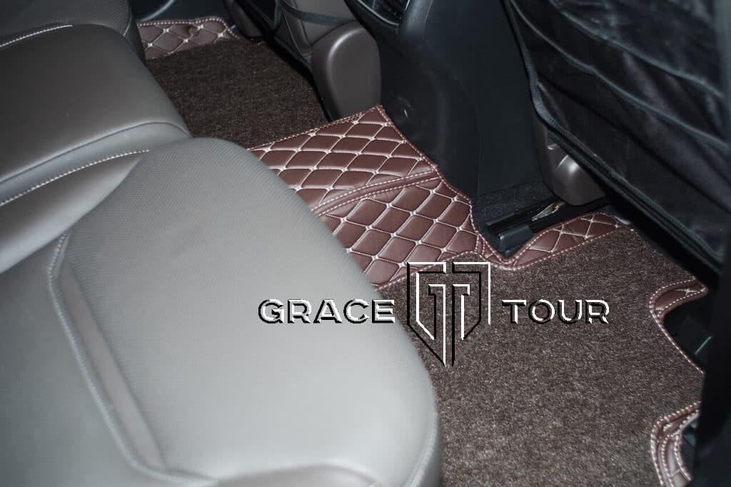 3d коврики из экокожи для Mazda CX-9 AWD пассажирские